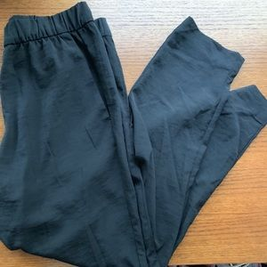 H&M Black Silky Pull On Pant